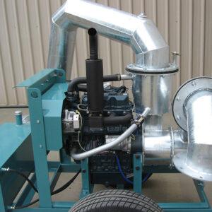Collins 8IN. Kubota Diesel pumps