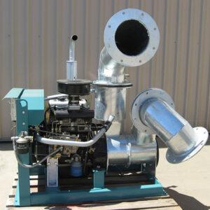 Collins 8IN. QC 380 Diesel pumps