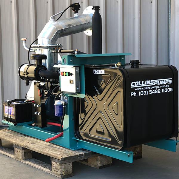 Collins 6in Kubota Pump
