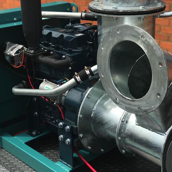 Collins 8in Kubota Pump