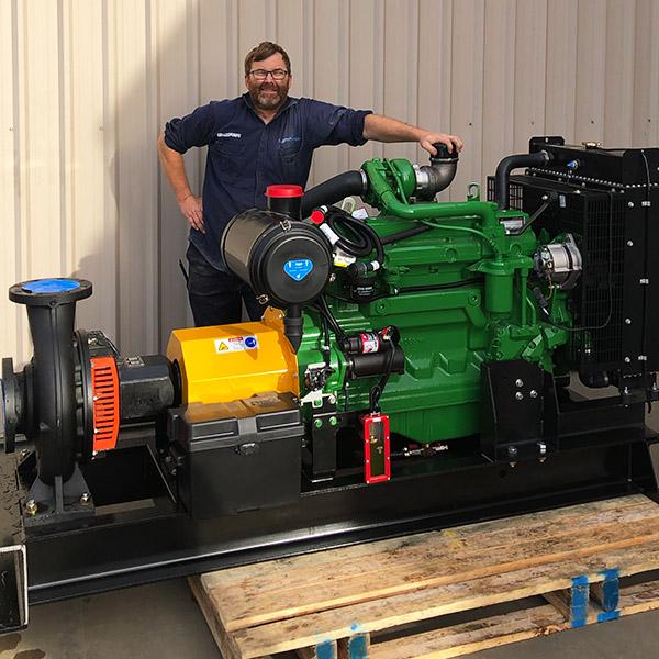 Collins Custom Build Pump